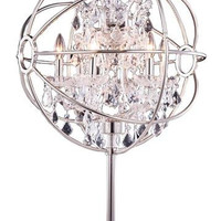 Metro - Small Orb Crystal Table Lamp  (6 Light Modern Crystal Table Lamp) - 800TL21