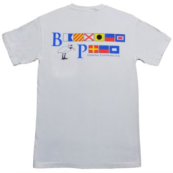 Bayview Signal Flags in Sand Key White