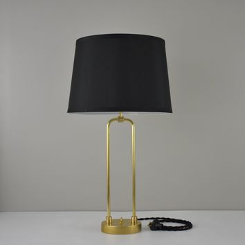 Brass Frame Table Lamp