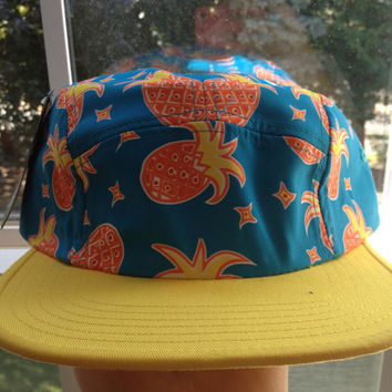 Pineapple tropical SnapBack by WildEdge on Etsy