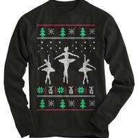 Ballerinas Ugly Christmas Sweater