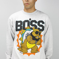 Entree LS BOSS Heather Crew