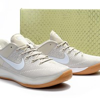 NIKE kobe Men's basketball sports shoes Nike Kobe 12 A.D. Size 40,41,42,43,44,45,46 quietly elegant