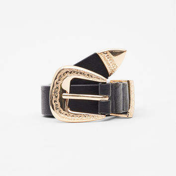 Wide belt - Belts - Accessories - Woman - PULL&BEAR United Kingdom