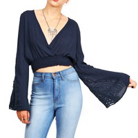 Bellflower Crop Top