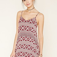 Elephant Print Cami Dress | Forever 21 - 2000176620