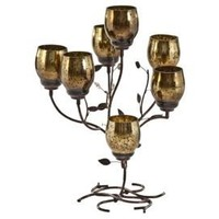 One Kings Lane - Decor & More - Star Home Seven Cup Candelabra