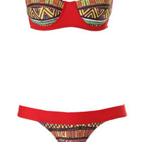 Sirene Collection :: Jungle Underwire Bandeau Bikini SOLD OUT