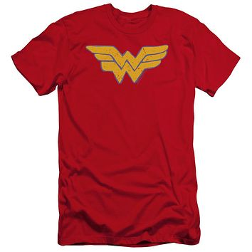 Premium Wonder Woman Rough Adult T-Shirt