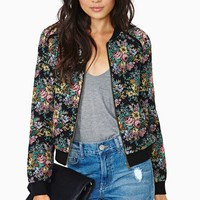 Ladakh Tapestry Time Bomber Jacket