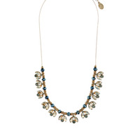 Pretty Petal Collar Necklace | Clear | Accessorize
