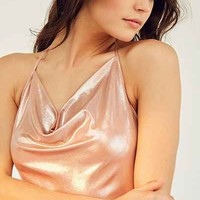 Out From Under Julia Metallic Bodysuit - Urban Outfitters