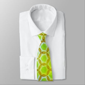 Limeade Time Lime Green Tie