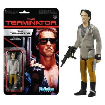 The Terminator ReAction Figure by FUNKO NIB Arnold Schwarzenegger I'll Be Back