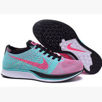 """""""NIKE"""" Trending Fashion Casual Sports Shoes Blue red hook"""
