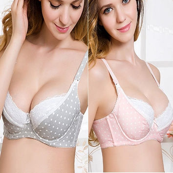 Women Maternity Bra Breastfeeding Bra Pregnant Feeding Nursing Tops 34-42 Cup B Only Bra = 1946754244