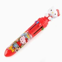 Hello Kitty 6-Color Mini Ballpoint Pen: Travels