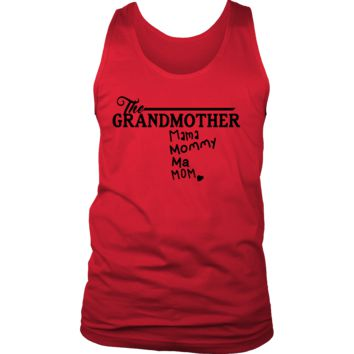 The Grandmother, Grandma, Grandmummy' Best Grandma Ever Men's Tank