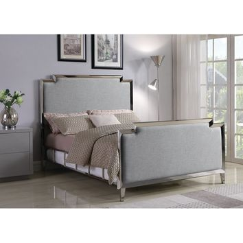 Colrain Upholstered Panel Bed