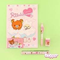 Rilakkuma Notebook Set - 5 pcs