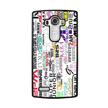 kpop all band lg g4 case cover  number 1
