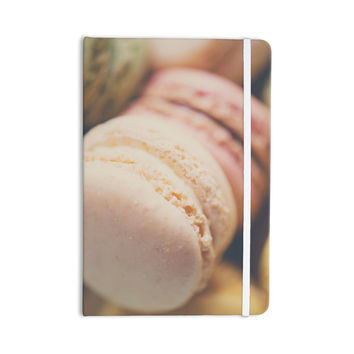 "Laura Evans ""Macaroon Goodness"" Pastel Food Everything Notebook"