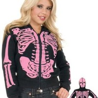 Halloween: Full-Zip Up Hoodie Costume With Face Mask » GiftWhirl.com