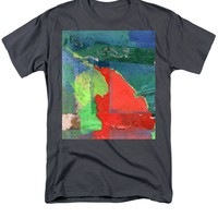 Red Field Painting T-Shirt