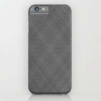 plaid hypnosis iPhone & iPod Case by RichCaspian