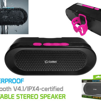 BeatBot Rechargeable Bluetooth Speaker - Pink