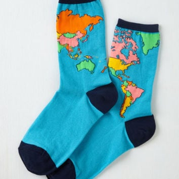 Vintage Inspired For What It's Earth Socks Size OS by ModCloth