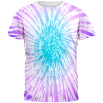 Dead Head Tie Dye All Over Adult T-Shirt