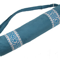 1769 Taj Peacock Yoga Mat Bag*
