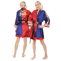 Suicide Squad Property of Joker Satin Robe - Exclusive