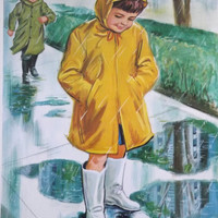 Teaching Pictures Rain Children Learning Poster Learning Picture Nursery Art Childrens School Art