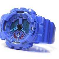Blue Gshock Inspired Watch