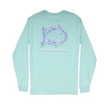 Southern Yacht Week Long Sleeve T-Shirt in Offshore Green by Southern Tide - FINAL SALE