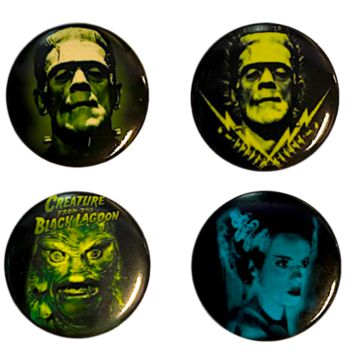 Universal Monster Buttons