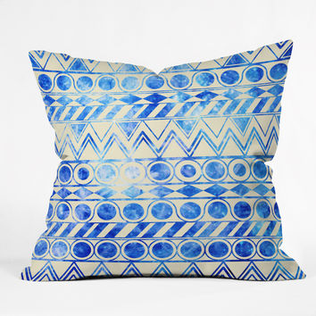 Fimbis Cool Kicks Throw Pillow