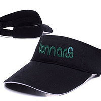 DEBANG Bonnaroo Music Festival Logo Adjustable Visor Cap Embroidery Sun Hat Sports Visors