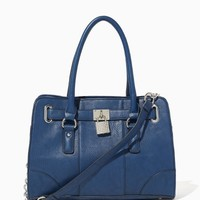 Sparkle Lockbox Satchel | Fashion Handbags | charming charlie