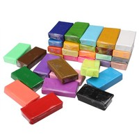 32 Colors Fimo Polymer Clay Blocks Soft Sticky Plasticine Craft Student DIY