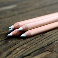 White Chalk Pencil for chalkboards - White Chalk Alternative- Artist supplies - Wedding Chalkboard