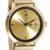 Flud Watches The World Class Watch in Gold Black : Karmaloop.com - Global Concrete Culture