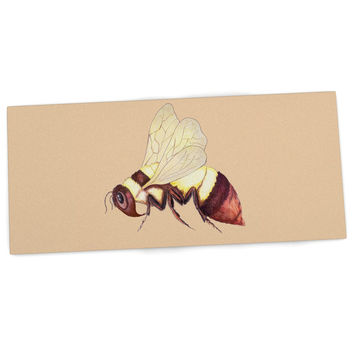 "Catherine Holcombe ""Bee Happy Beige"" Desk Mat"