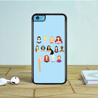 Disney Princess Art iPhone 5 5S 5C Case Dewantary