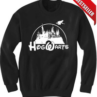 Hogwarts Disney Sweatshirt Super Soft DTG Print Sizes S, M, L, XL, XXL, 3XL