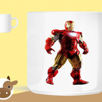 Iron Man Render  unique coffee mug