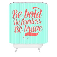 Allyson Johnson Bold And Brave Shower Curtain