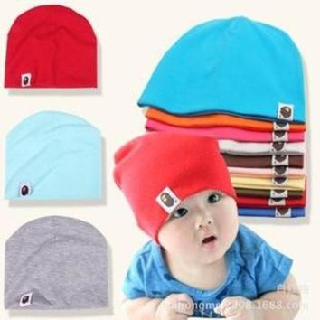 PEAP78W Unisex Cotton Beanie Hat for NewBorn Cute Baby Boy/Girl Soft Toddler Infant Cap